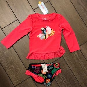 Toddler girl's bathing suit